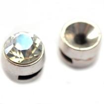 Zilver Leerschuiver voor SS39 Ø6x1.9mm metaal zilver DQ