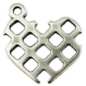 Zilver Bedel hart metaal zilver DQ 29mm