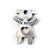 Zilver Bedel little princes metaal zilver DQ 24mm