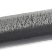 Grijs Ovaal leer 10x6mm grijs