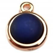 Blauw Cabochon polaris donker blauw 16.4mm