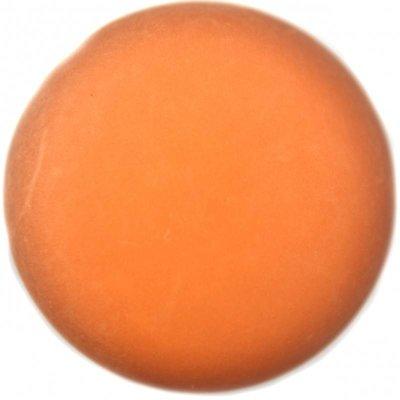 Bruin Cabochon polaris mat amber bruin 20mm