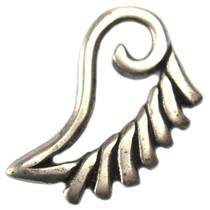 Zilver Bedel vleugel metaal zilver DQ 34mm
