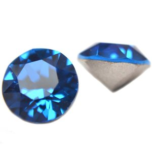 Blauw Swarovski puntsteen SS39 Capri Blue
