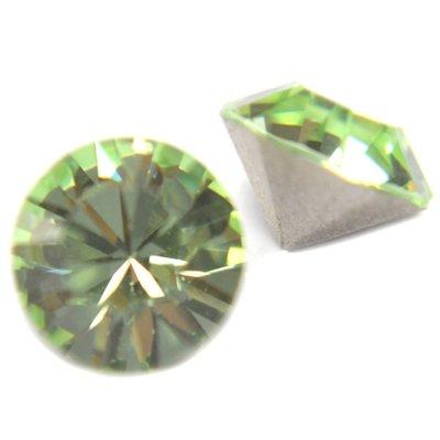 Groen Swarovski puntsteen SS39 Chrysolite