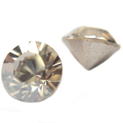 Grijs Swarovski puntsteen SS39 Crystal Silver Shade