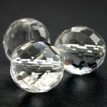 Wit Glaskraal facet kristal vanaf 4mm