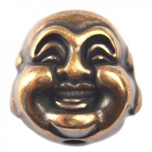 Antiek Goud Brons Kraal buddha metaal brons DQ 20mm