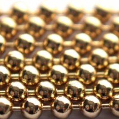 Goud Ballchain goud 2.0mm