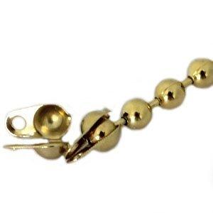 Goud Ballchain kalotje goud