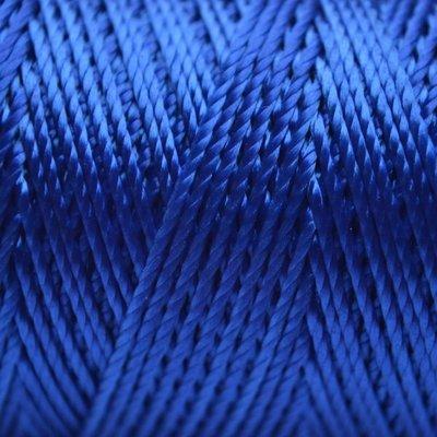 Blauw Macrame koord fluor blauw 0,8mm