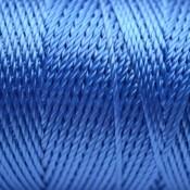Blauw Macrame koord fluor licht blauw 0,8mm