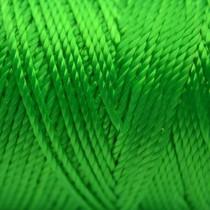 Groen Macrame koord fluor groen 0,8mm