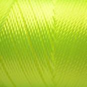 Geel Macrame koord fluor geel 0,8mm
