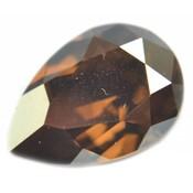 Bruin Swarovski druppel Crystal Bronze Shade 14x10mm