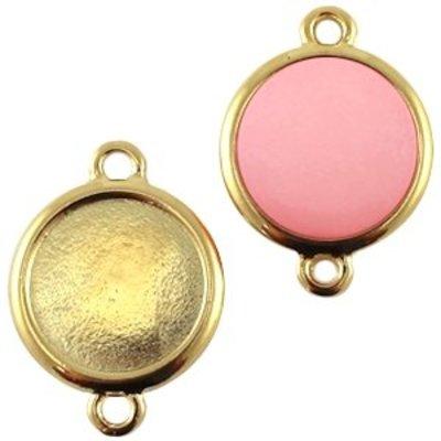 Goud Tussenzetsel setting voor 15mm goud DQ