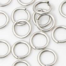 Zilver Ringetjes zilver DQ 20x2mm - 4 stuks
