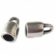 Zilver Eindkap Ø10mm rond zilver DQ