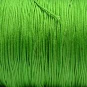 Groen Nylon koord lime groen 0,8mm - 6 meter