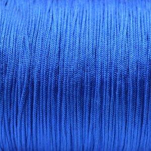 Blauw Nylon koord cobalt blauw 0,8mm - 6 meter