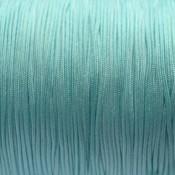 Blauw Nylon koord licht aqua blauw 0,8mm - 6 meter