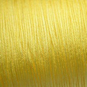 Geel Nylon rattail koord geel 1mm - 6 meter