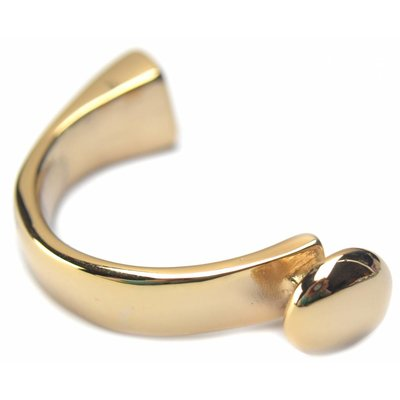 Goud Halve armband Ø10x5,3mm goud DQ