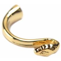 Goud Halve armband Ø10x5mm goud DQ