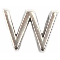 Zilver Leerschuiver W Ø10x6mm zilver DQ