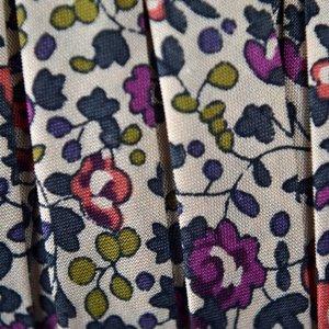 Multicolor Lint blauw paars 10mm - 10cm