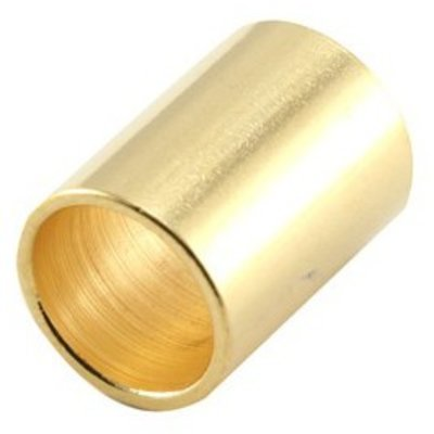 Goud Tube Ø10mm goud DQ 16mm