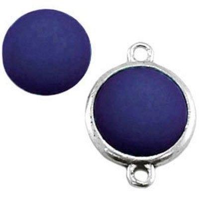 Blauw Cabochon Polaris montana blauw 11.5mm