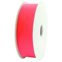 Roze Elastisch lint ibiza padparadscha - per meter