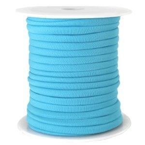 Blauw Modi lint aqua 4mm - per meter
