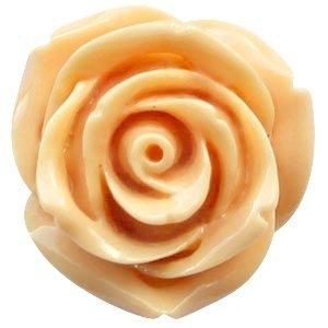 Oranje Roos pastel oranje 22mm