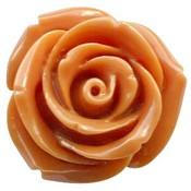Bruin Roos sienna bruin 11mm