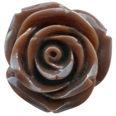 Bruin Roos donker bruin 22mm