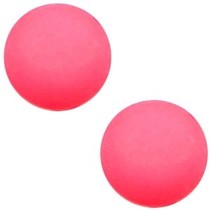 Roze Cabochon Polaris mat 12mm Indian Pink