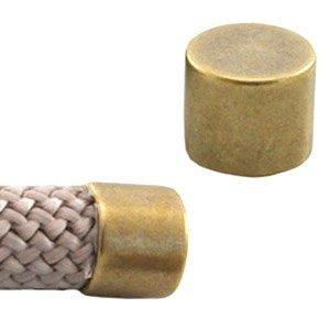 Antiek Goud Brons Eindkap Ø10mm Brons DQ 17x12mm