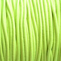 Geel Elastiek fluor geel 2mm - 1m