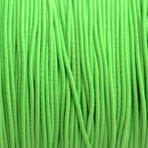 Groen Elastiek fluor groen 2mm - 1m