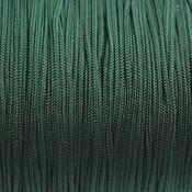 Groen Nylon rattail koord donker groen 1mm - 6 meter