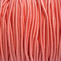 Roze Elastiek koraal roze 2mm - 1m