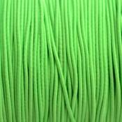 Groen Elastiek fluor groen DQ 1mm - 3m