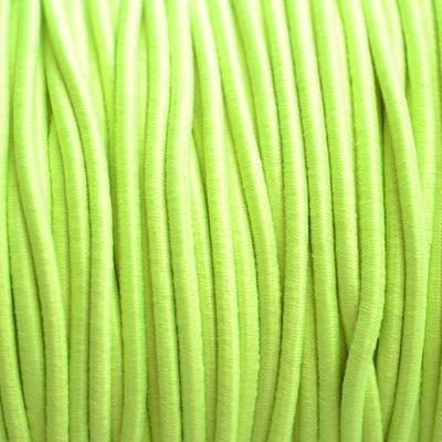 Geel Elastiek fluor geel DQ 1mm - 3m