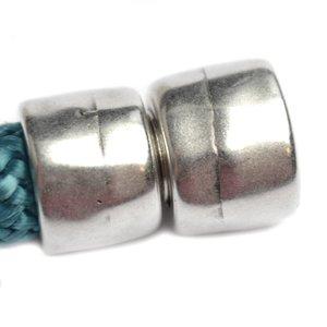 Zilver Magneetsluiting Ø10mm Zilver DQ 14x11mm