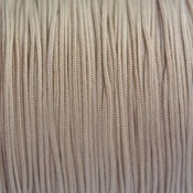 Bruin Nylon rattail koord licht bruin 1mm - 6m