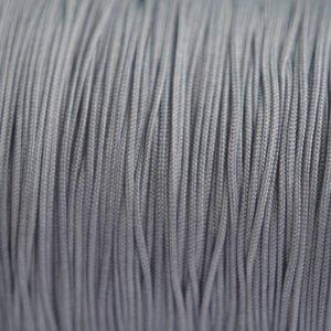 Grijs Nylon rattail koord grijs 1mm - 6m