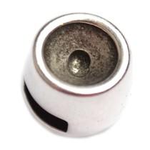 Zilver Leerschuiver Ø6x2.5mm voor SS29 Zilver DQ