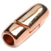 Rosegoud Magneetsluiting Ø5mm Rosegoud DQ 24x9mm